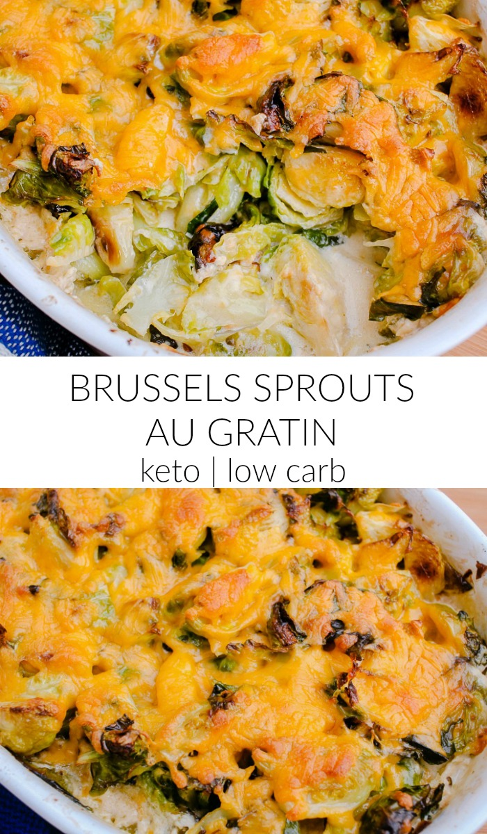 brussel sprouts au gratin
