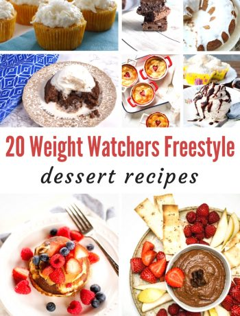 Weight Watchers Freestyle dessert roundup