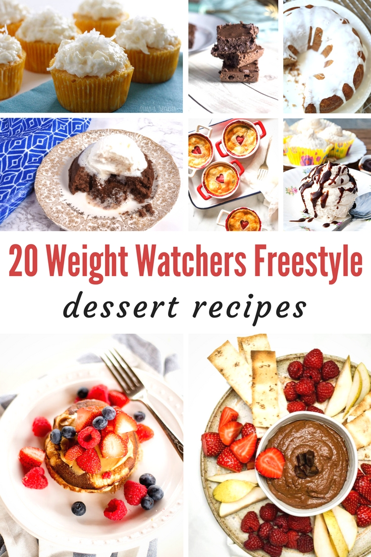 Weight Watchers Freestyle dessert roundup