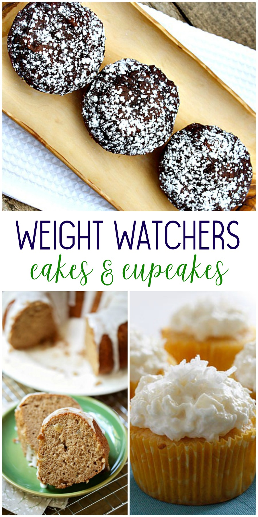 weight watchers friendly cakes and cupcakes