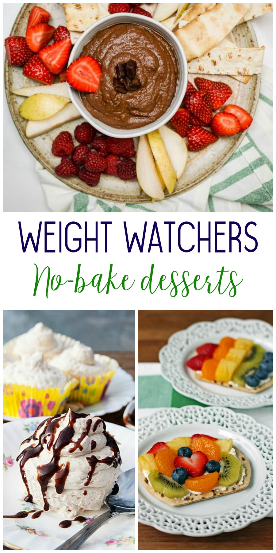 Weight watchers no bake desserts