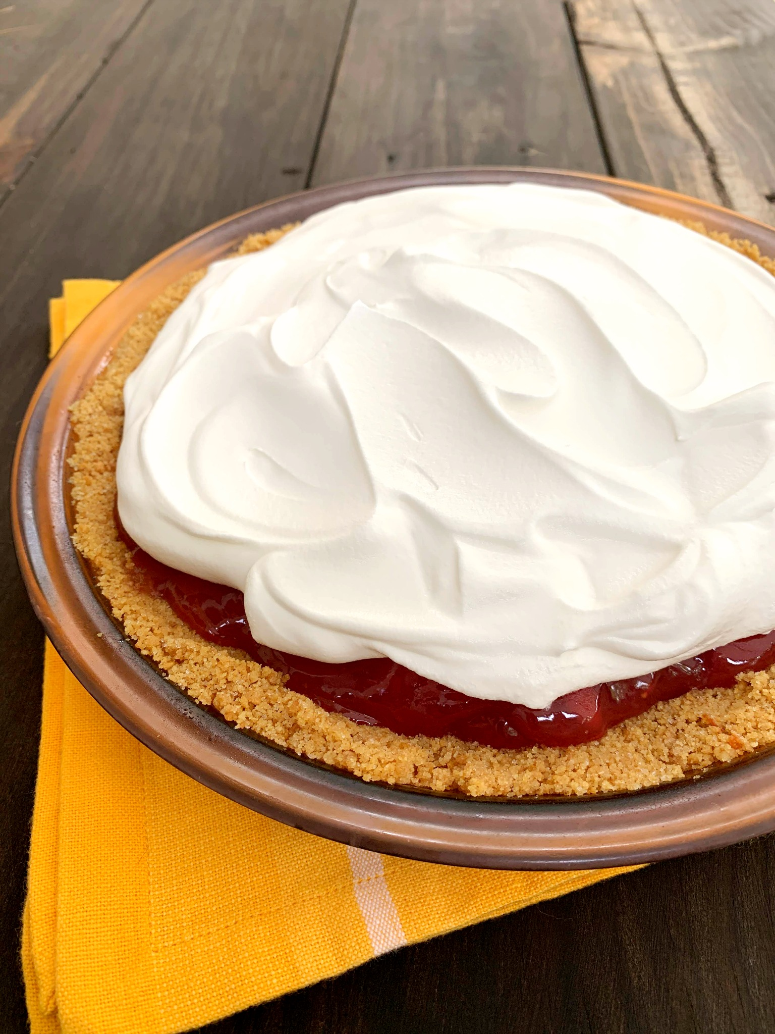 No Bake Strawberry Pie The Endless Appetite