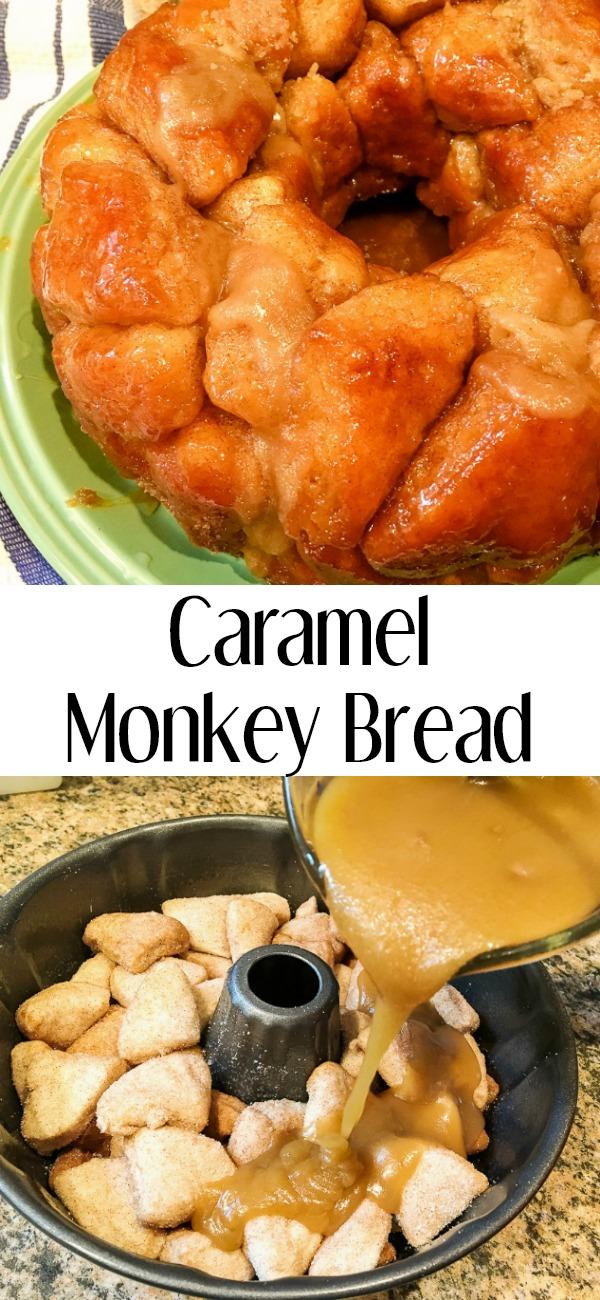 pinterest image for monkey bread