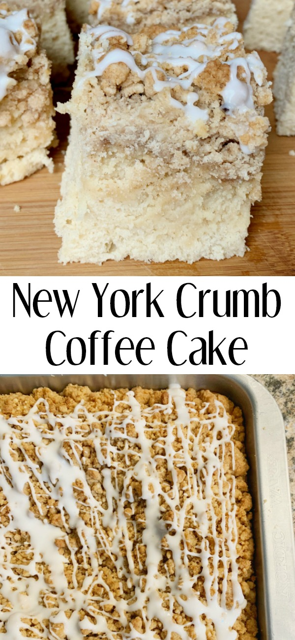 pinterest image for New York Style Coffee Cake
