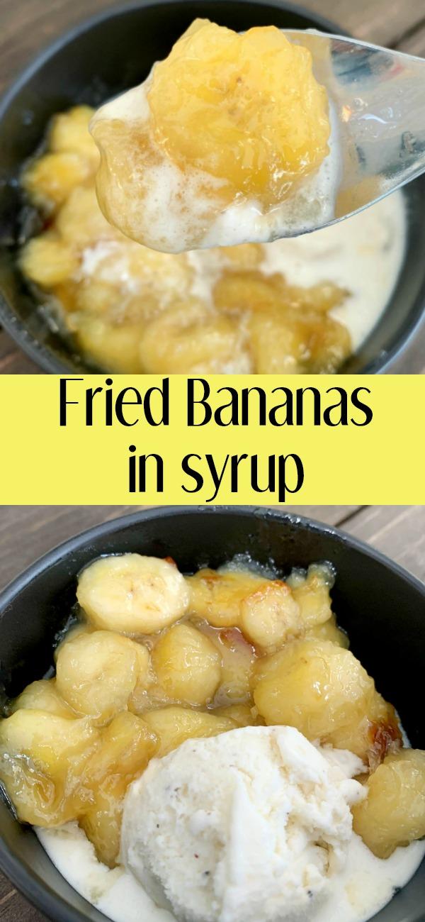 pinterest image for fried bananas