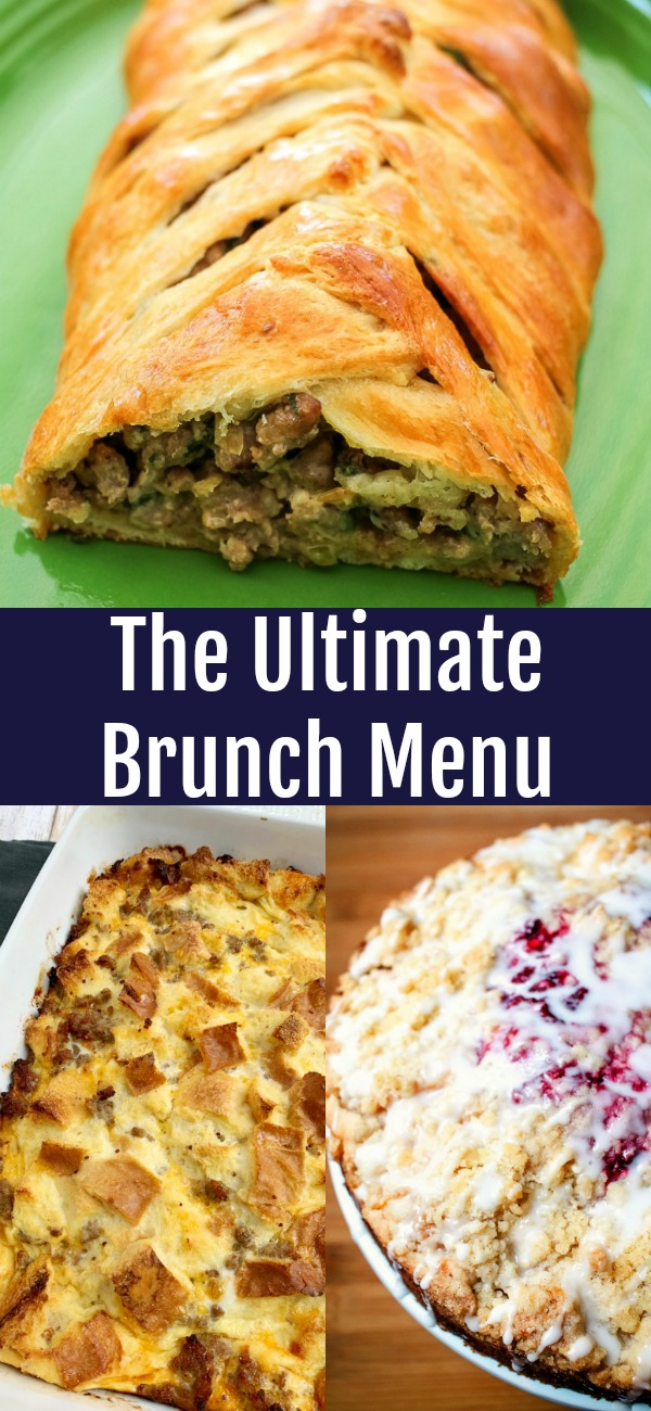 pinterest image for Ultimate Brunch Menu